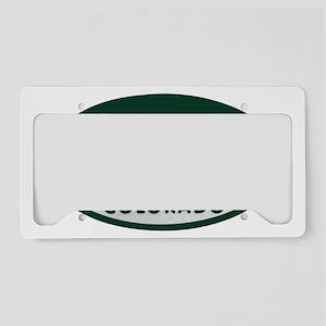 Actor_license_oval License Plate Holder