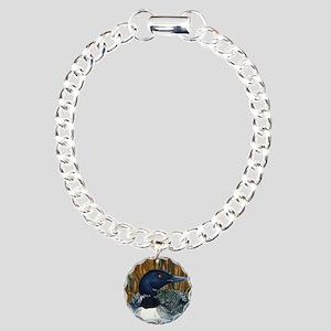 loon 2 Charm Bracelet, One Charm