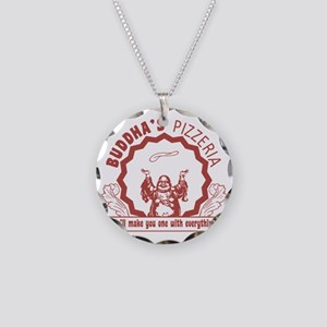 Buddhaspizza Necklace Circle Charm