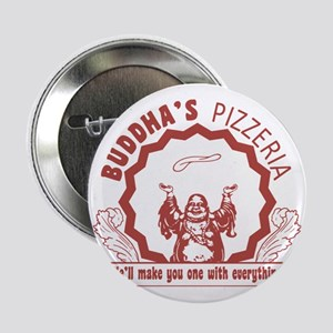 """Buddhaspizza 2.25"""" Button"""