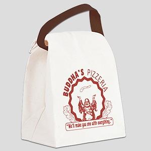 Buddhaspizza Canvas Lunch Bag