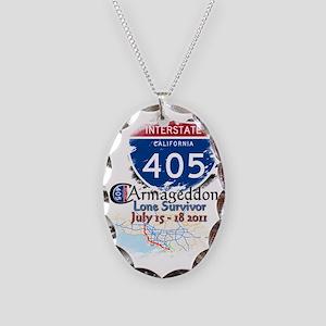 carrmagedon Necklace Oval Charm