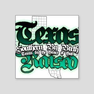 """Texas Square Sticker 3"""" x 3"""""""
