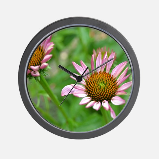 Floral Insirations Wall Clock
