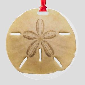 SAND DOLLAR 1 Round Ornament