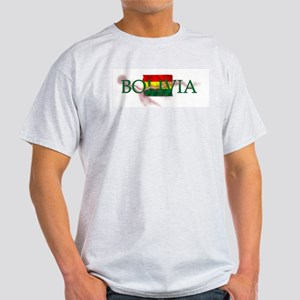 BOLIVIA Ash Grey T-Shirt