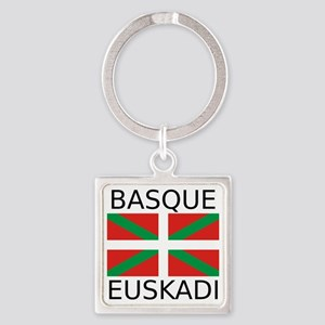 Basque Square Keychain