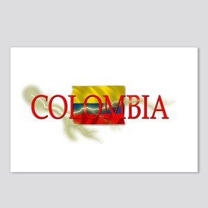 COLOMBIA Postcards (Package of 8)