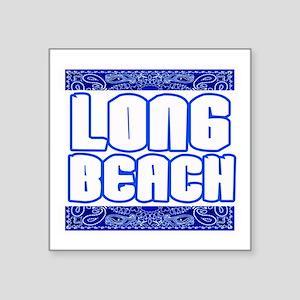 "Long Beach copy Square Sticker 3"" x 3"""
