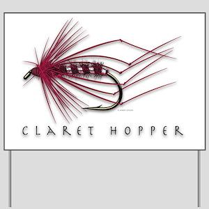 Claret Hopper Yard Sign
