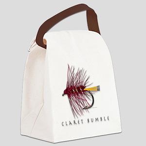 Claret Bumble Canvas Lunch Bag