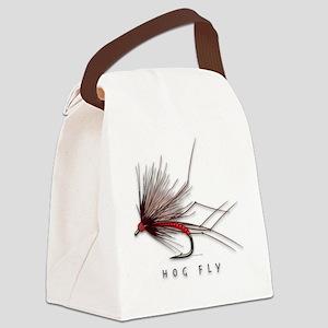 Hog Fly Canvas Lunch Bag