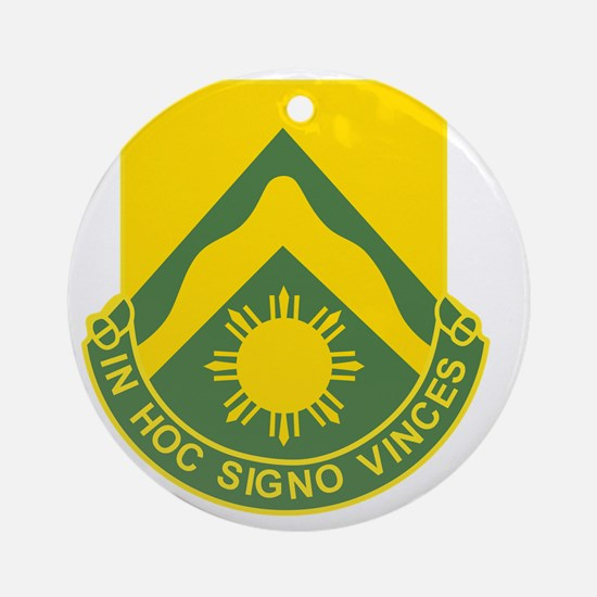 710th Airborne Tank Battalion Round Ornament