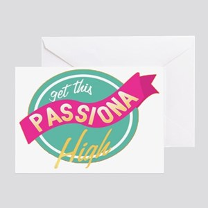 Passiona High Greeting Card