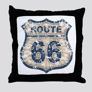 rt66-rays-T Throw Pillow