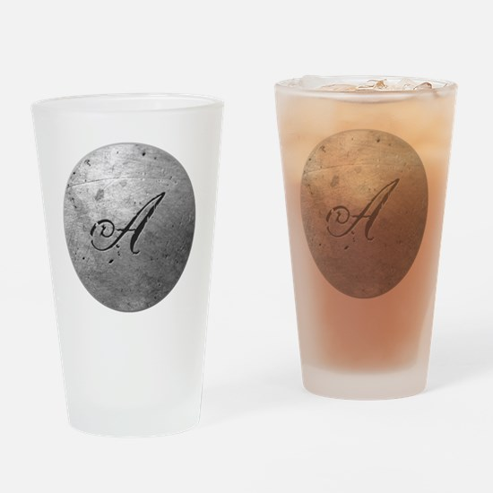 MetalSilvAneckTR Drinking Glass