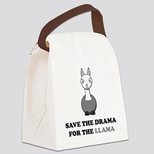 llama1 Canvas Lunch Bag
