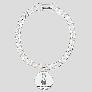 llama1 Charm Bracelet, One Charm