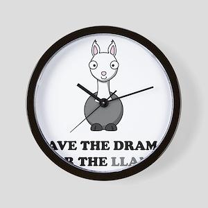 llama1 Wall Clock
