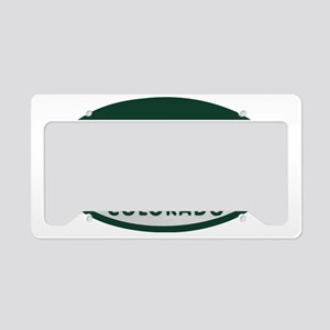 Aspen_license_oval License Plate Holder