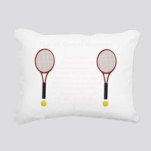 10Tennis2dk Rectangular Canvas Pillow