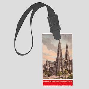 Archbishop Hughes Book back cove Large Luggage Tag