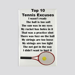 10Tennis2V Rectangle Magnet