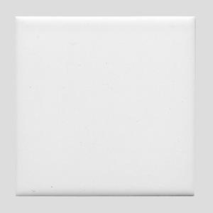 Boxer-University-dark Tile Coaster