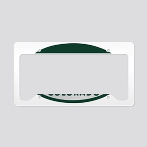 cycling_license_oval License Plate Holder