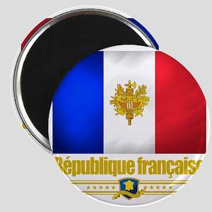 French Flag-Emblem (Flag 10) Magnet