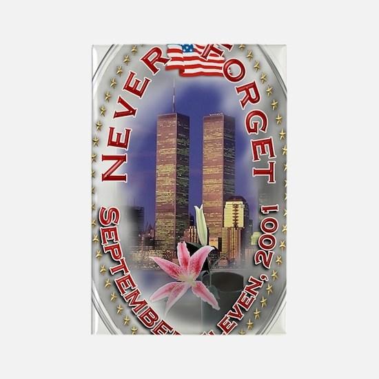 SEPTEMBER 11 001 Rectangle Magnet