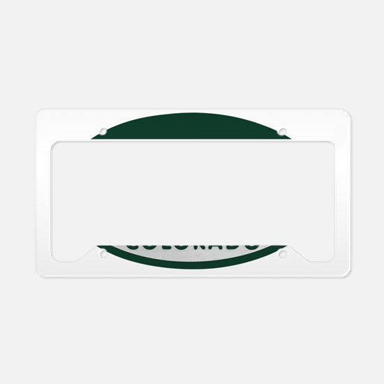 Loveland_license_oval License Plate Holder