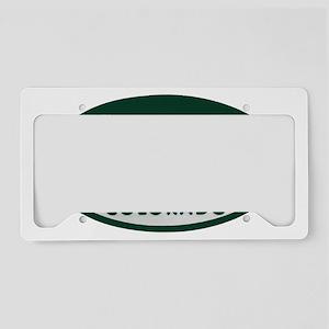 Hiker_license_oval License Plate Holder