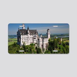 Neuschwanstein horizontal Aluminum License Plate