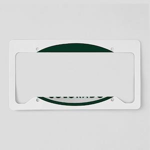 Skater_license_oval License Plate Holder