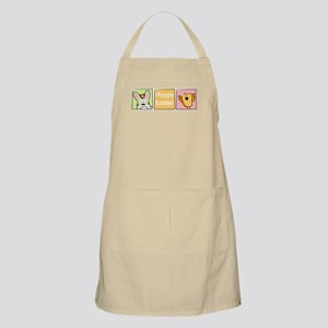 Easter bunny and chick BBQ Apron