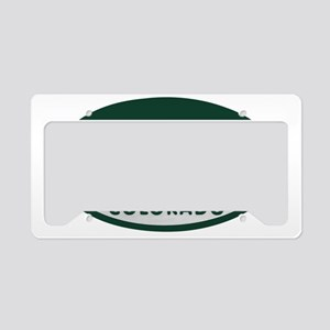 ski_license_oval License Plate Holder