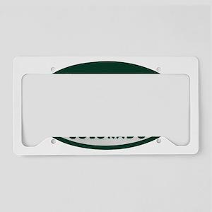 sk8er_license_oval License Plate Holder