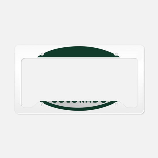 Native_license_oval License Plate Holder