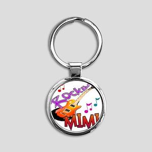 ROCKIN MIMI Round Keychain