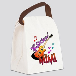 ROCKIN MIMI Canvas Lunch Bag