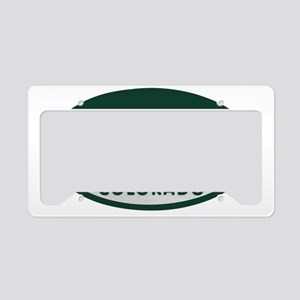 Vail_license_oval License Plate Holder
