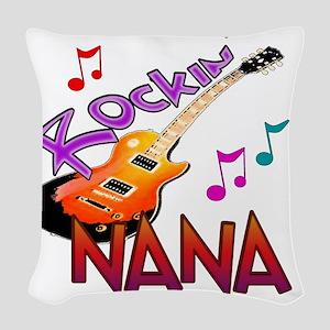 ROCKIN NANA Woven Throw Pillow