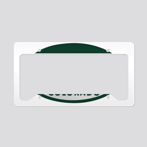 Triathlete_license_oval License Plate Holder