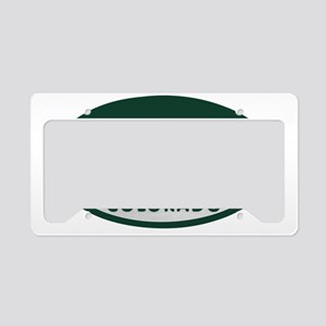 Winter_Parkl_license_oval License Plate Holder