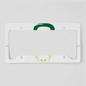 Hella Green License Plate Holder