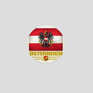 Austria (Flag 10) Mini Button