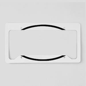 iRun License Plate Holder