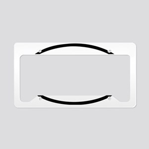 Moo License Plate Holder