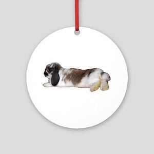 """Bunny 3"" Ornament (Round)"